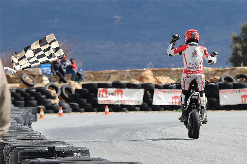 Christian Palomares en la primera carrera Campeonato Castilla y Leon 2012 minimotard